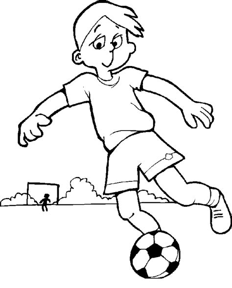 Football Coloring Pages Soccer Color Pages