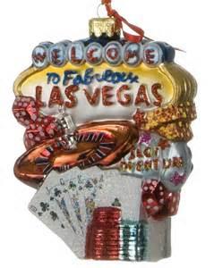 las vegas personalized ornament