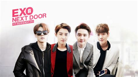 vidio film exo next door exo next door to have a film version kpopmusic com