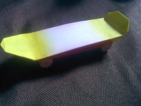 How To Make Paper Skateboard - origami skateboard by hozo on deviantart