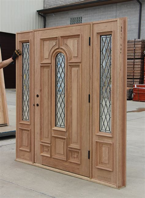Wide Exterior Door Wide Entry Door With Sidelights Cl 66