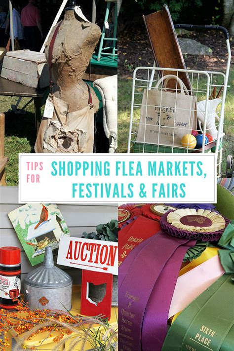 Tips For Flea Market Shopping by Tips For Shopping Flea Markets Festivals And Fairs