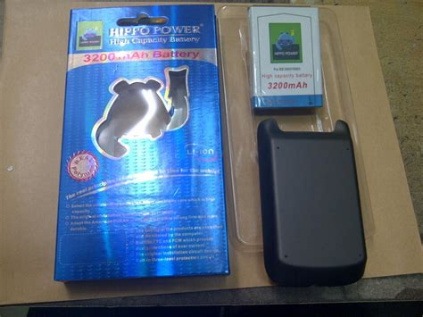 Battery Blackberry Bold Hippo Ms 1 battery power backdoor for blackberry