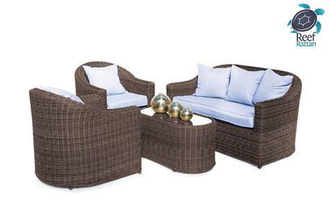 sunbrella patio furniture outdoor patio rattan furniture conversation set brown w
