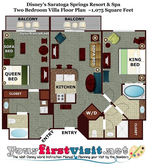 disney saratoga springs floor plan review disney s saratoga springs resort spa page 5