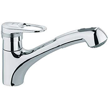 grohe eurodisc kitchen faucet grohe 33 939 000 europlus ii pull out kitchen faucet