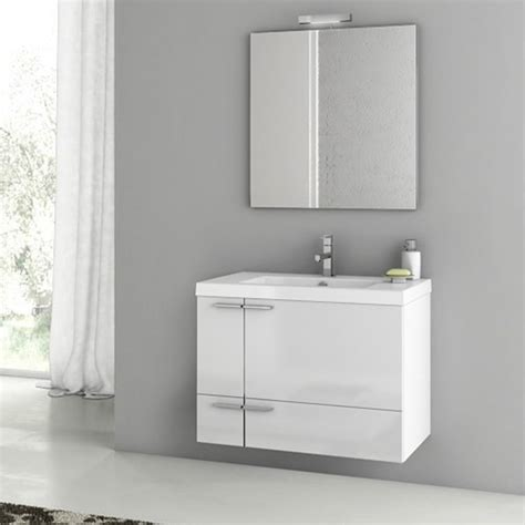 31 bathroom vanity modern 31 inch bathroom vanity set with ceramic sink