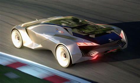 peugeot vision gran turismo concept cars drive  day concept rides pinterest