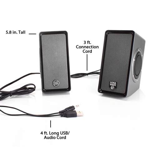 Speaker Simbadda Mini Dual O usb powered computer stereo speaker system with dual