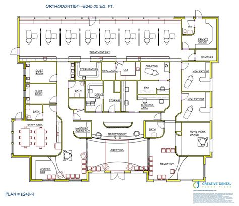 plans design creative dental floor plans orthodontist floor plans