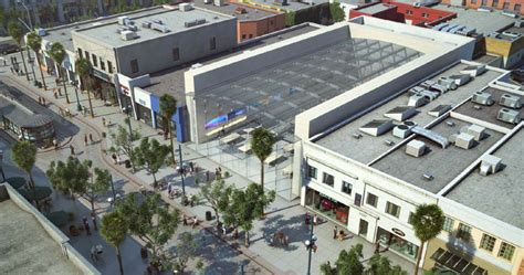 home design store santa monica apple proposing a massive glass roofed retail store on the