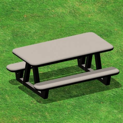 park bench table picnic table park bench 3ds