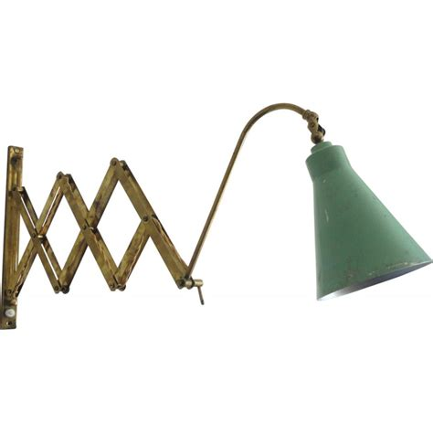 vintage styled scissor arm wall sconce i industrial wall