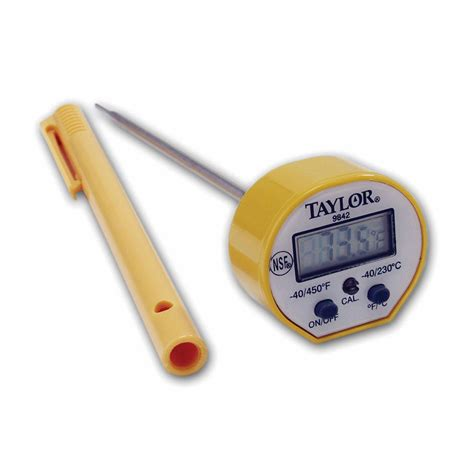 Thermometer Pocket 9842fda pocket thermometer w waterproof digital