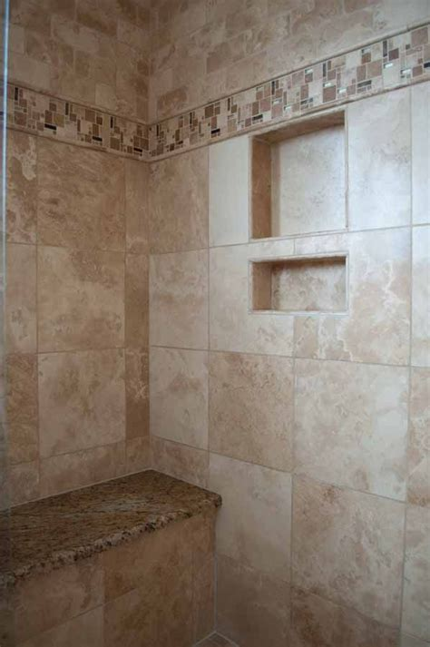 Bathroom Travertine Tile Design Ideas by 25 Best Ideas About Travertine Shower On