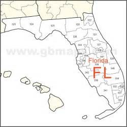 florida area code map florida map with zip codes zip code map
