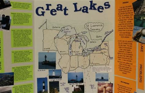 report on visit to book fair trifold display board for your geography fair project