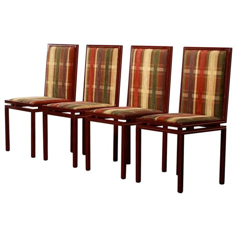 Dining Room Chairs Set Of Four Set Of Four Dining Room Chairs By Vandel At