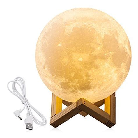 enchanting luna moon l enchanting lunar moon night light ezobi