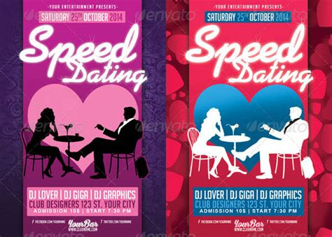14 Cool Flyer Templates For Dating Event Design Freebies Speed Dating Website Template