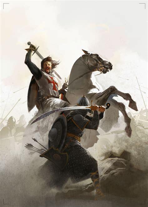 caballero medieval imaginewal caballero templario combate contra sarraceno m 225 s en www