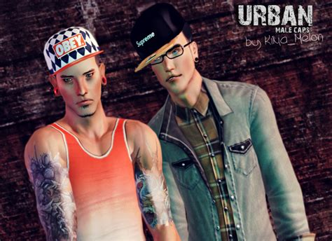 the sims 4 urban cc finds 3 male hair beats by dre empire sims 3 urban male caps by kima melon