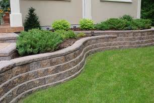 Design For Diy Retaining Wall Ideas Retaining Wall Design Ideas Aesthetic Expocrete Residential House Design Ideas