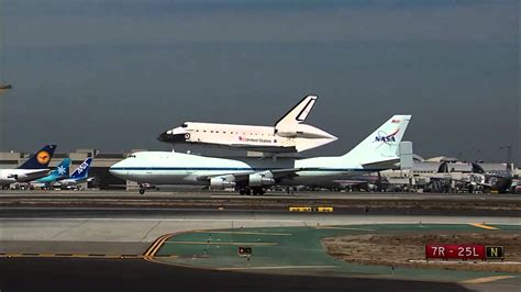 Lands In Los Angeles by Space Shuttle Endeavour Lands In Los Angeles