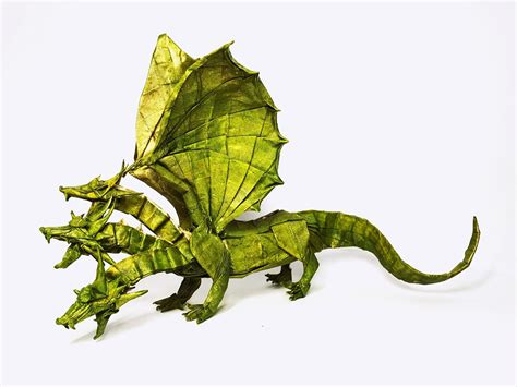 Three Headed Origami - 26 non traditional but still awesome origami dragons