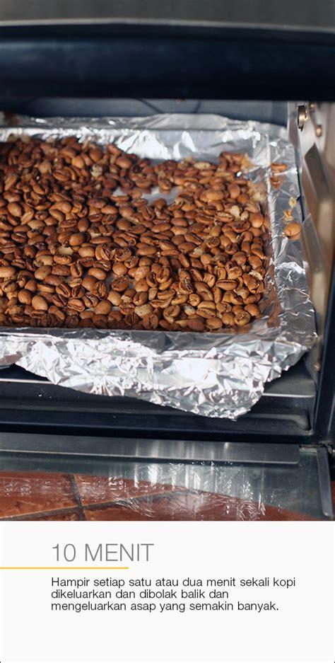 Oven Listrik Rumahan roasting dengan oven listrik cikopi