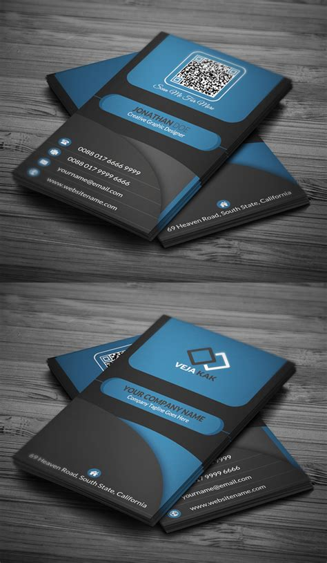 graphic business card templates modern business card psd templates design graphic
