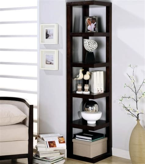 corner shelves living room designs for your self made corner shelf space saving