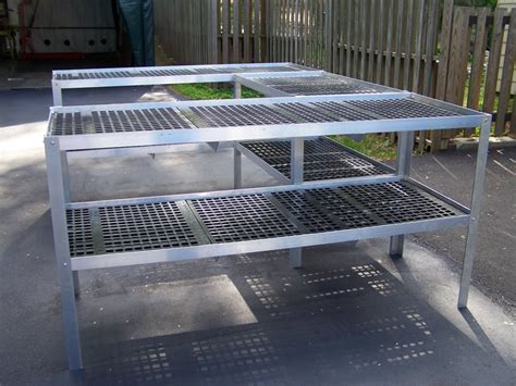 green house benches durable greenhouse aluminum benches holds heavy pots