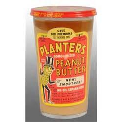 glass planters peanut mr peanut peanut butter jar