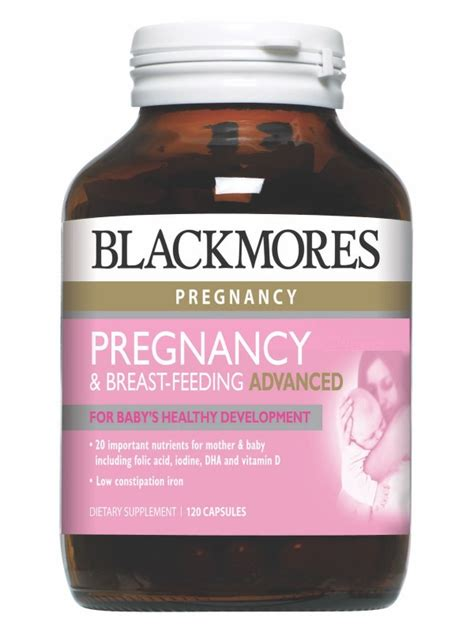 Blackmores Pregnancy 30 Kapsul blackmores pregnancy breast feeding advanced for baby s healthy development 120 capsules
