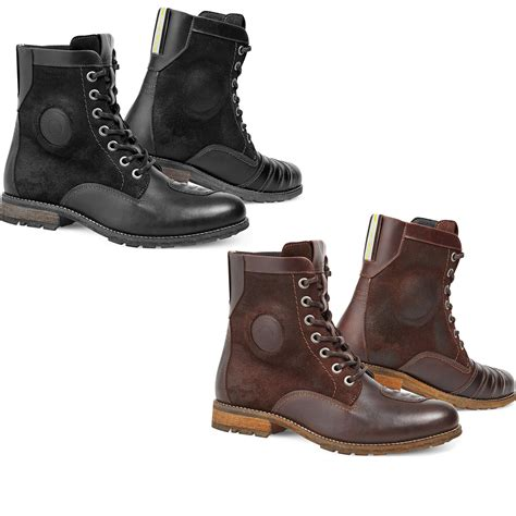 motorcycle boots and shoes rev it regent motorcycle leather boots water resistant