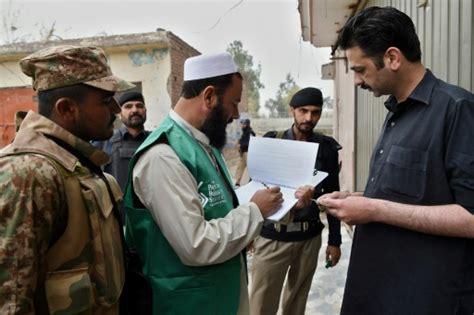 pakistan premier recensement en 19 ans sous haute