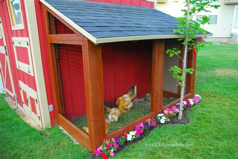 A Garden Shed by Remodelaholic Diy Chicken Coop With Attached