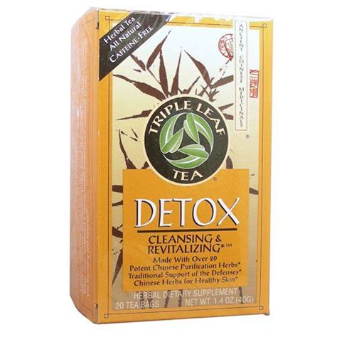Detox Cleansing And Revitalizing Tea by Teas