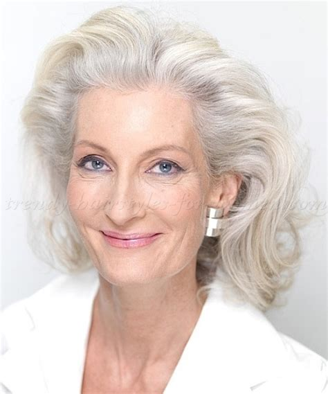 midlength hairstyles for older women non celebrity short hairstyles for women over 50