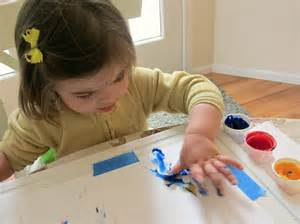 Toddler Booster Chair 9 Tips For Finger Painting With Your Toddler No Time For