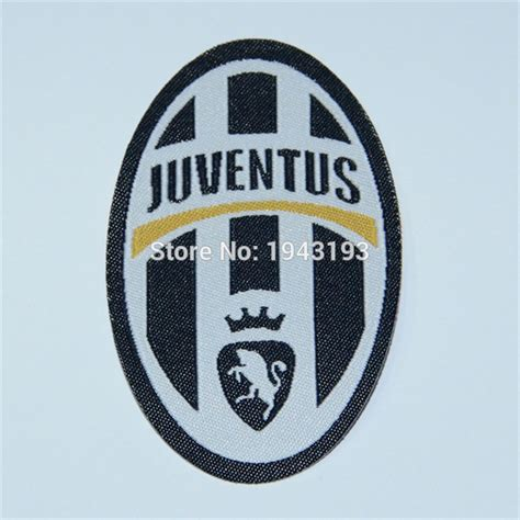 Sticker Logo Juventus Bl05 patch for juventus jersey badge iron on for clothing soccer club embroidery football stickers
