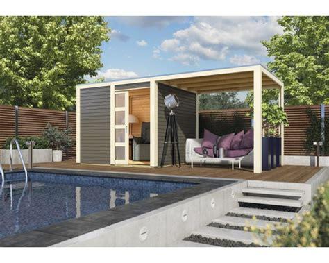 Gartenhaus Aus Aluminium by Gartenhaus Karibu Carlson Mit Schleppdach Selbstklebender