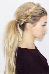 ponytail haircut where to position ponytail 25 best ideas about ponytail hairstyles on pinterest