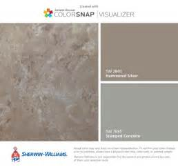 i found these colors with colorsnap 174 visualizer for iphone by sherwin williams hammered silver