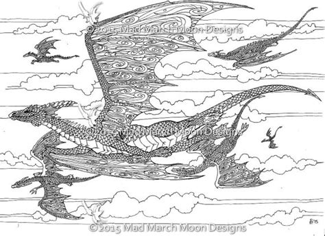 colouring pages 5 dragon themed coloring pages highly