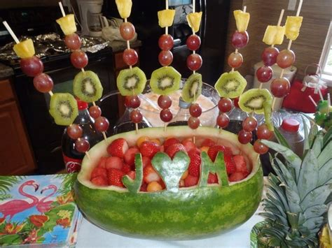 Bridal Shower Fruit Display by Pin By Molly Monnoyer On Wedding