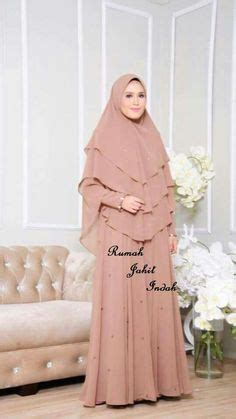 New Khimar Almira details about lauza instant one khimar amira