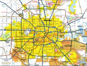 houston map of city map of houston indiana map