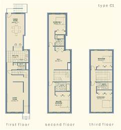 3 Story Floor Plans by Community Architect Anatomy Of The Baltimore Rowhouse